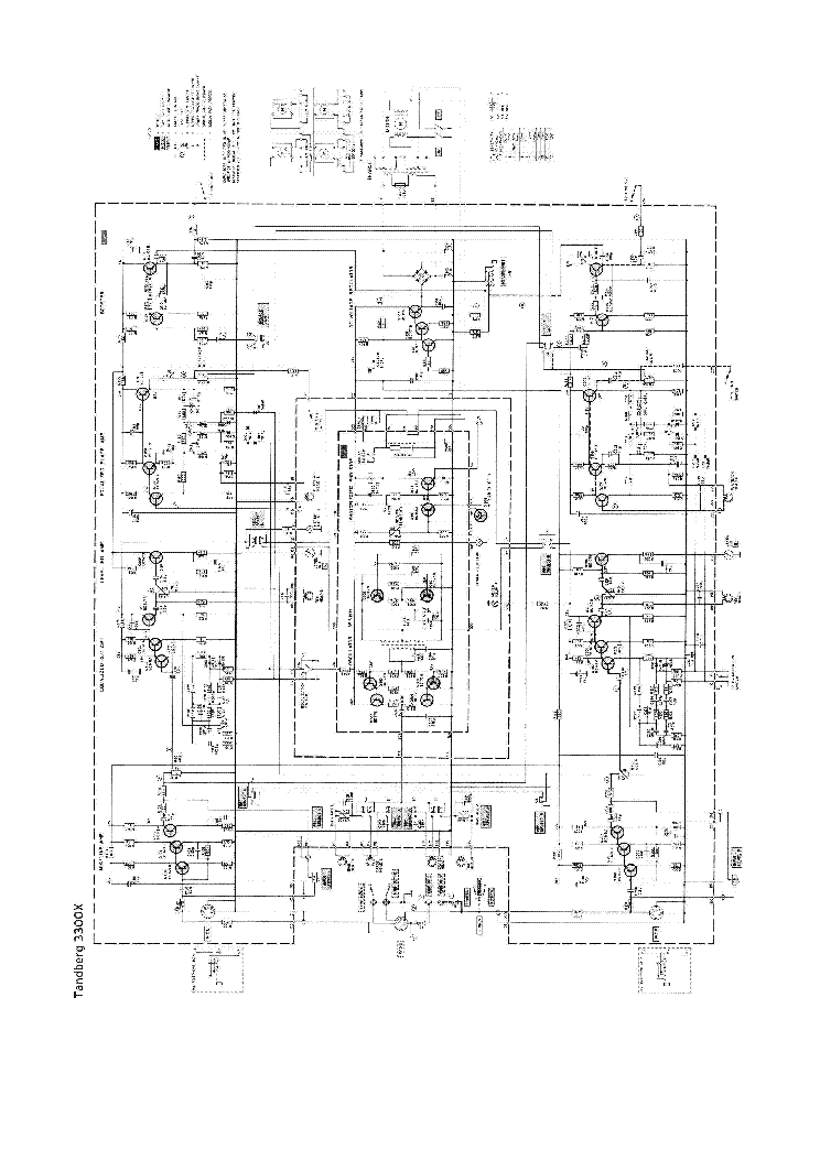 tandberg 3300x tape recorder sch service manual download