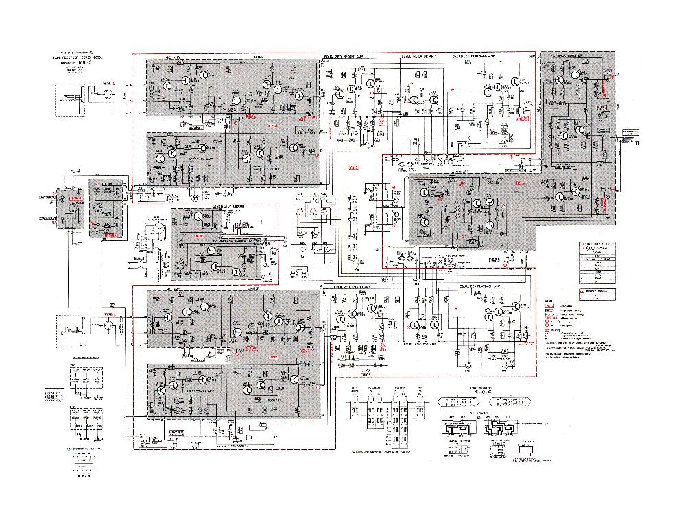 TANDBERG 6000X SCH Service Manual download, schematics