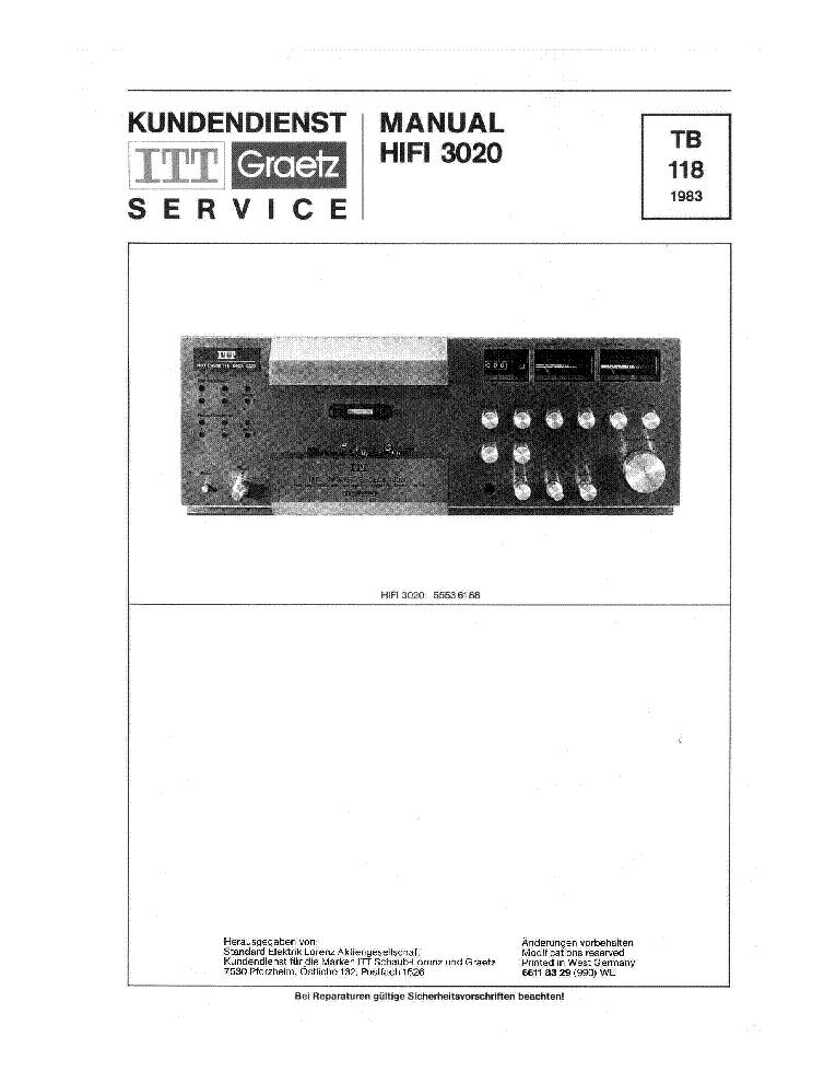 tandberg tcd3034 itt 3020 sm service manual download schematics rh elektrotanya com tandberg td20a service manual tandberg 3036a service manual