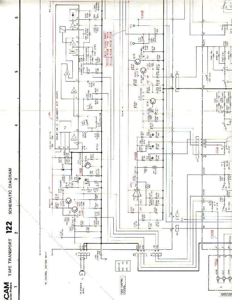 tascam 122 sch service manual download, schematics, eeprom, repair info for  electronics experts  elektrotanya
