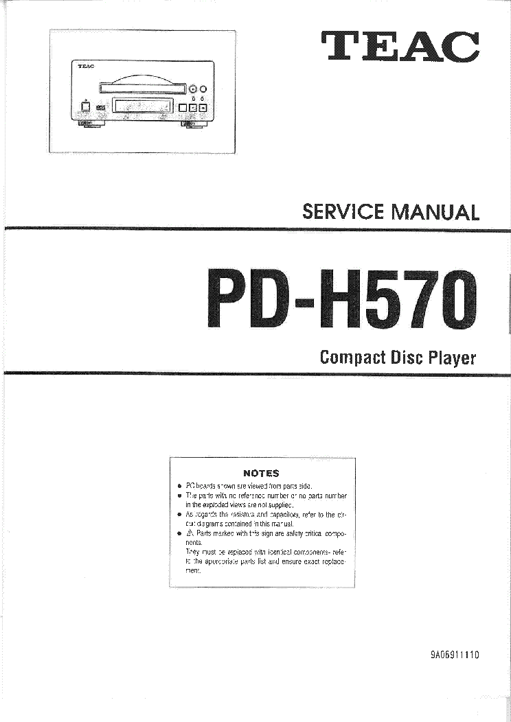 teac pd h570 sm service manual download schematics eeprom repair rh elektrotanya com teac x2000 service manual teac x2000 service manual