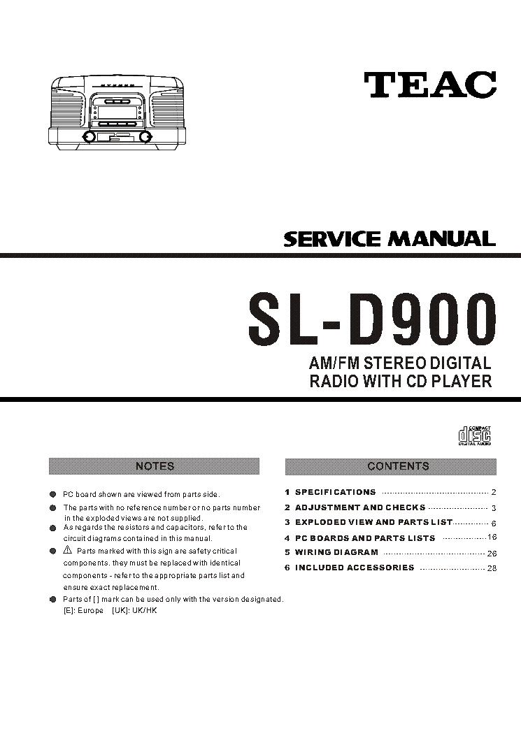 manual teac b420 dv