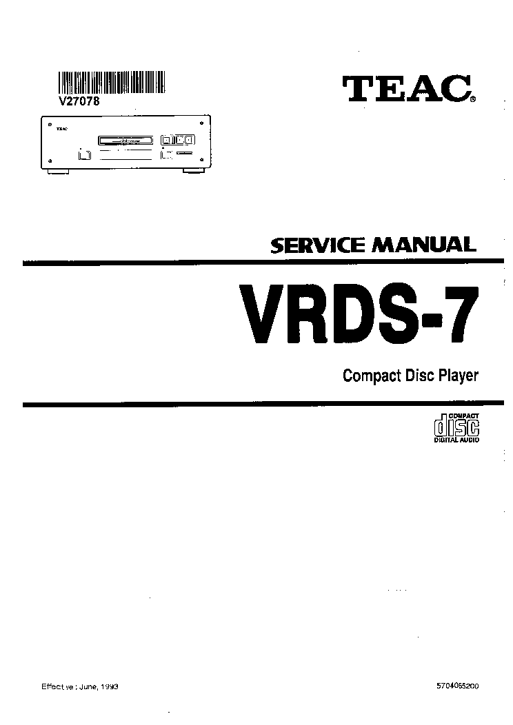 teac vrds 7 service manual download schematics eeprom repair info rh elektrotanya com teac 3300sx service manual teac 3340 service manual