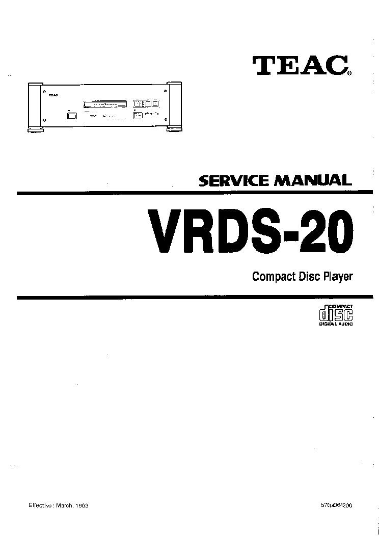 TEAC MC-D80 SM Service Manual download, schematics, eeprom