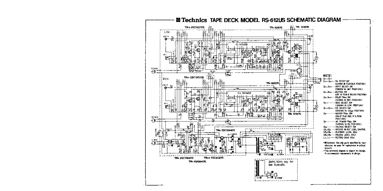 technics rs 612us sch service manual download schematics eeprom rh elektrotanya com sl 1200 service manual technics sl 1200 repair manual
