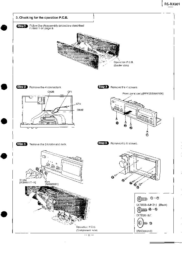 TECHNICS RS-BX601