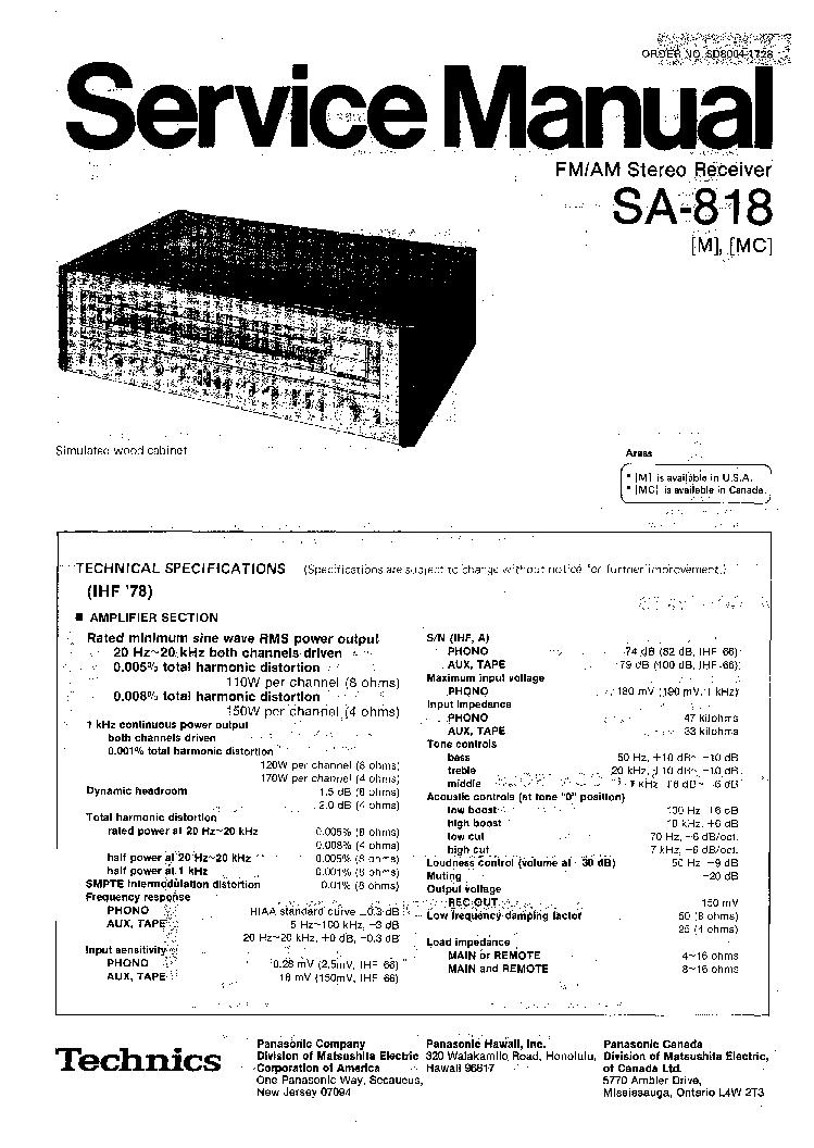 Sa818 инструкция