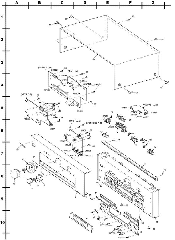 Technics Sa Dx1040 Service Manual Download Schematics Eeprom