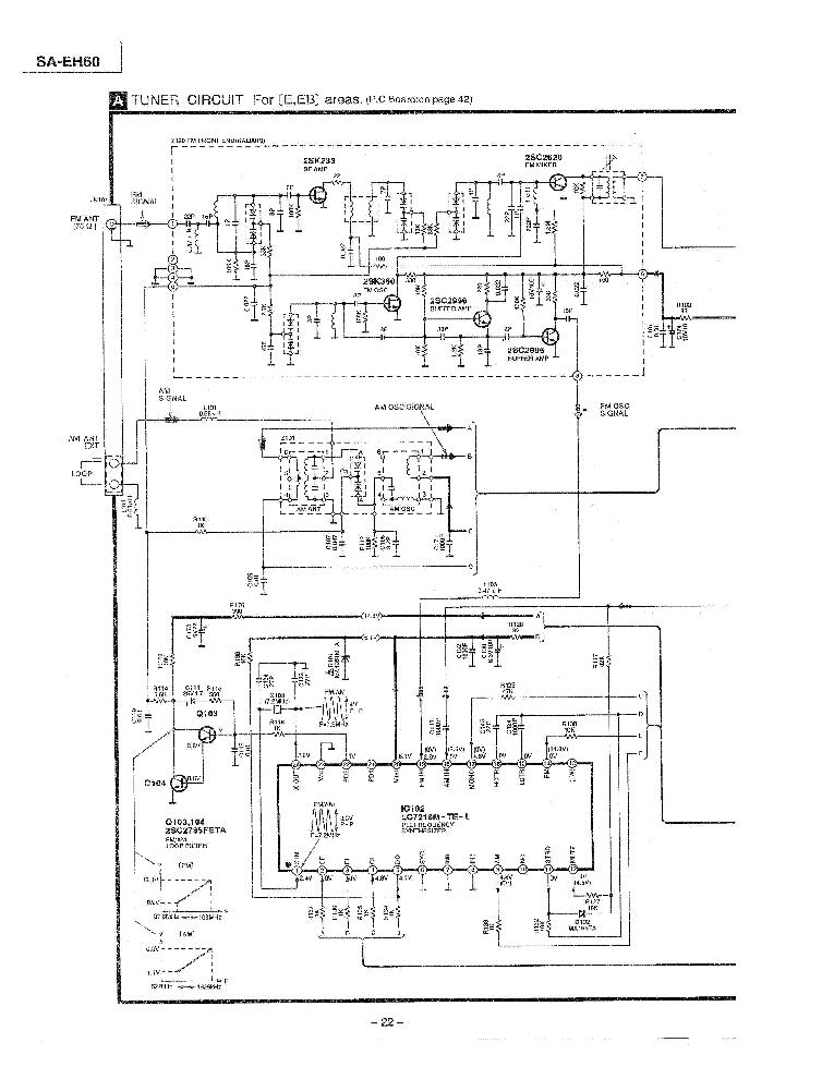 Technics sa-eh60 инструкция