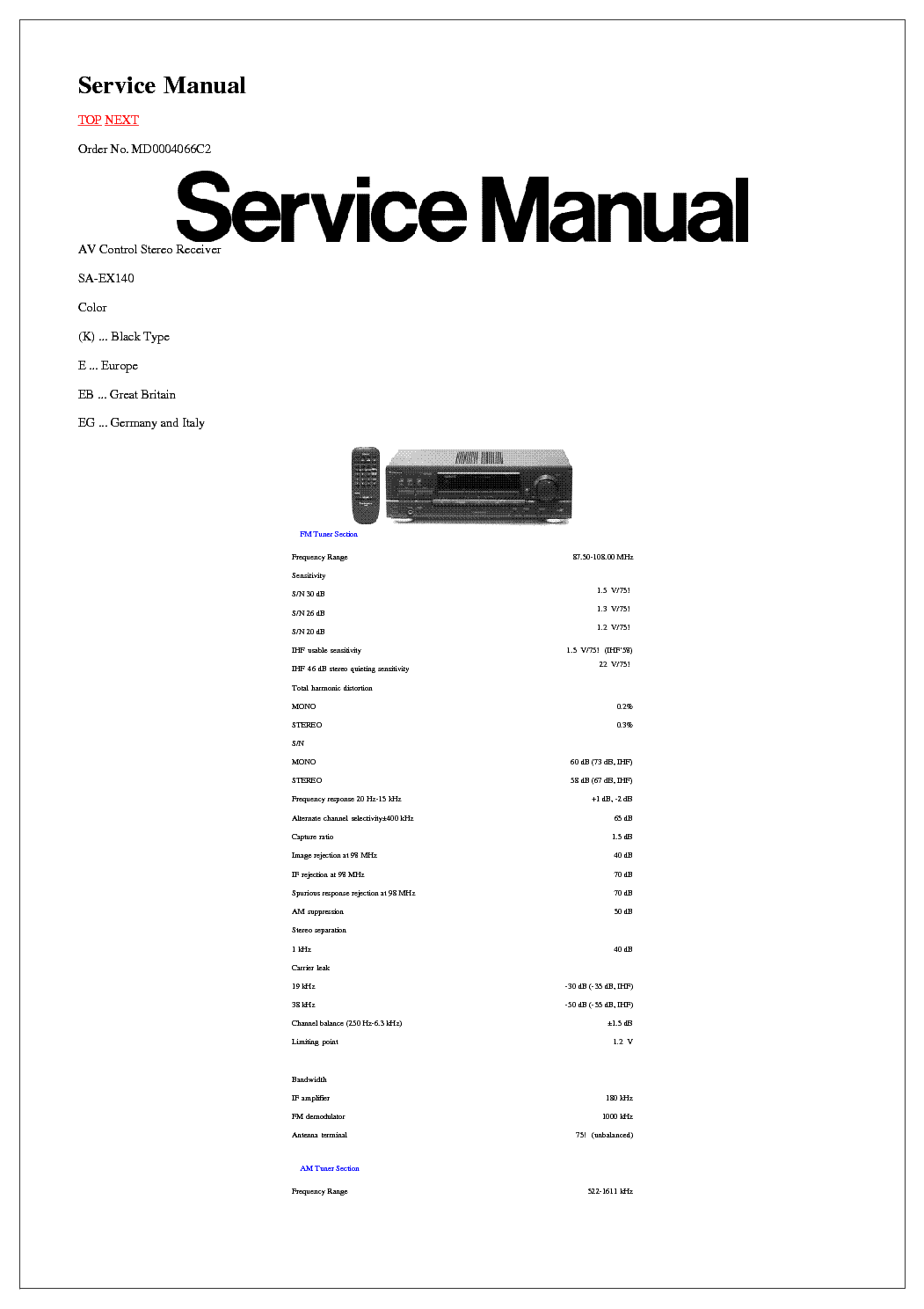technics su z960 wiring diagram