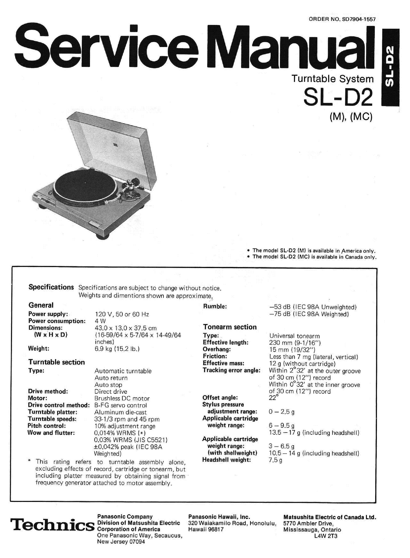 technics sl bd20d manual pdf
