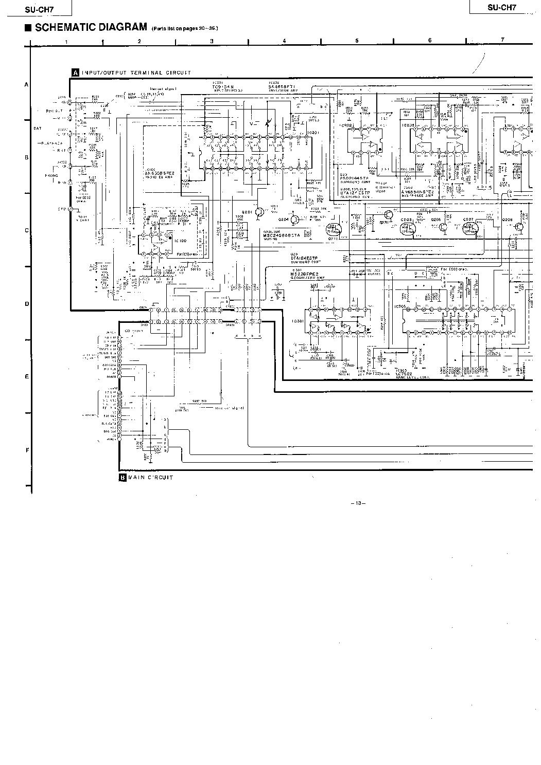 technics wiring diagram wiring diagram schematics