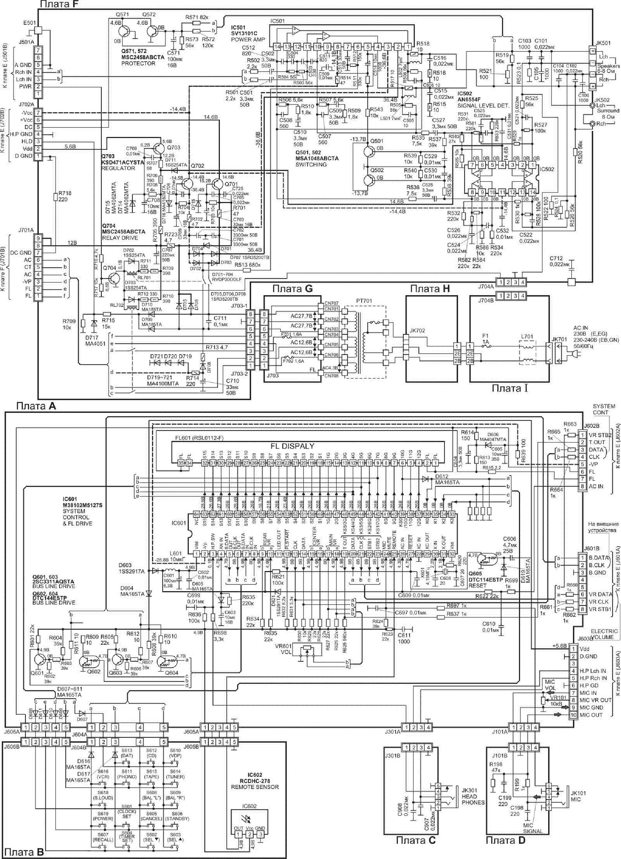 Technics St Hd301 Sch Service Manual Free Download - Imagez co