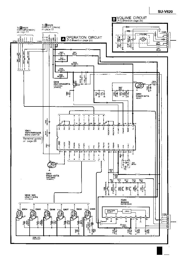 technics wiring diagram
