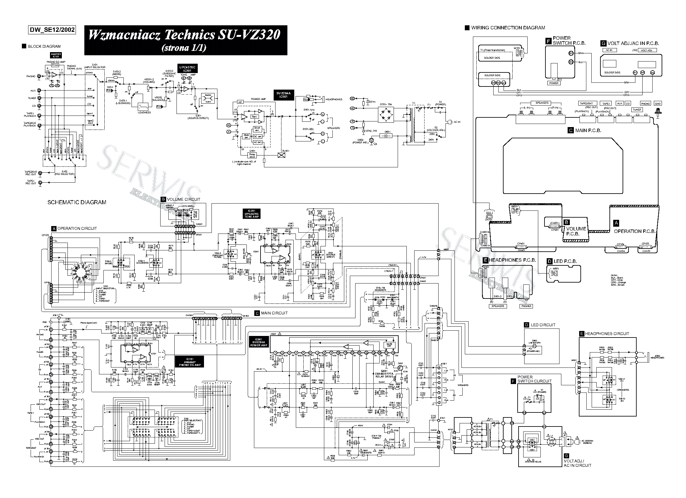 technics_su vz320_amplifier_sch.pdf_1 technics su vz320 amplifier sch service manual download technics wiring diagram at nearapp.co