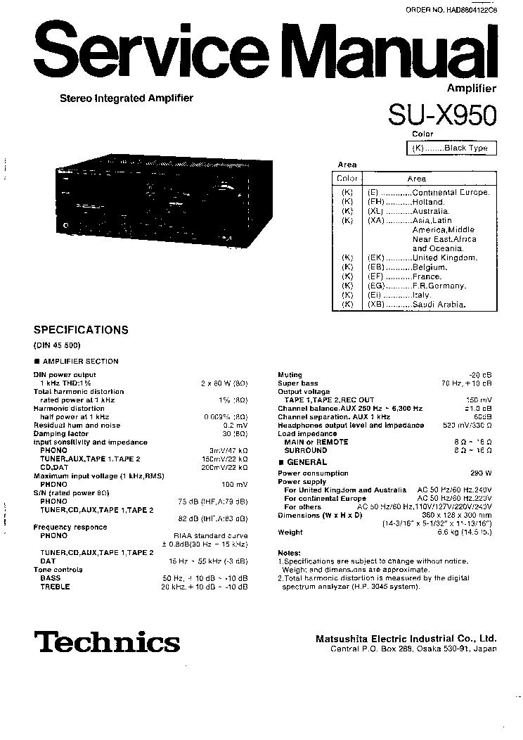 technics rsm17 sch service manual download  schematics