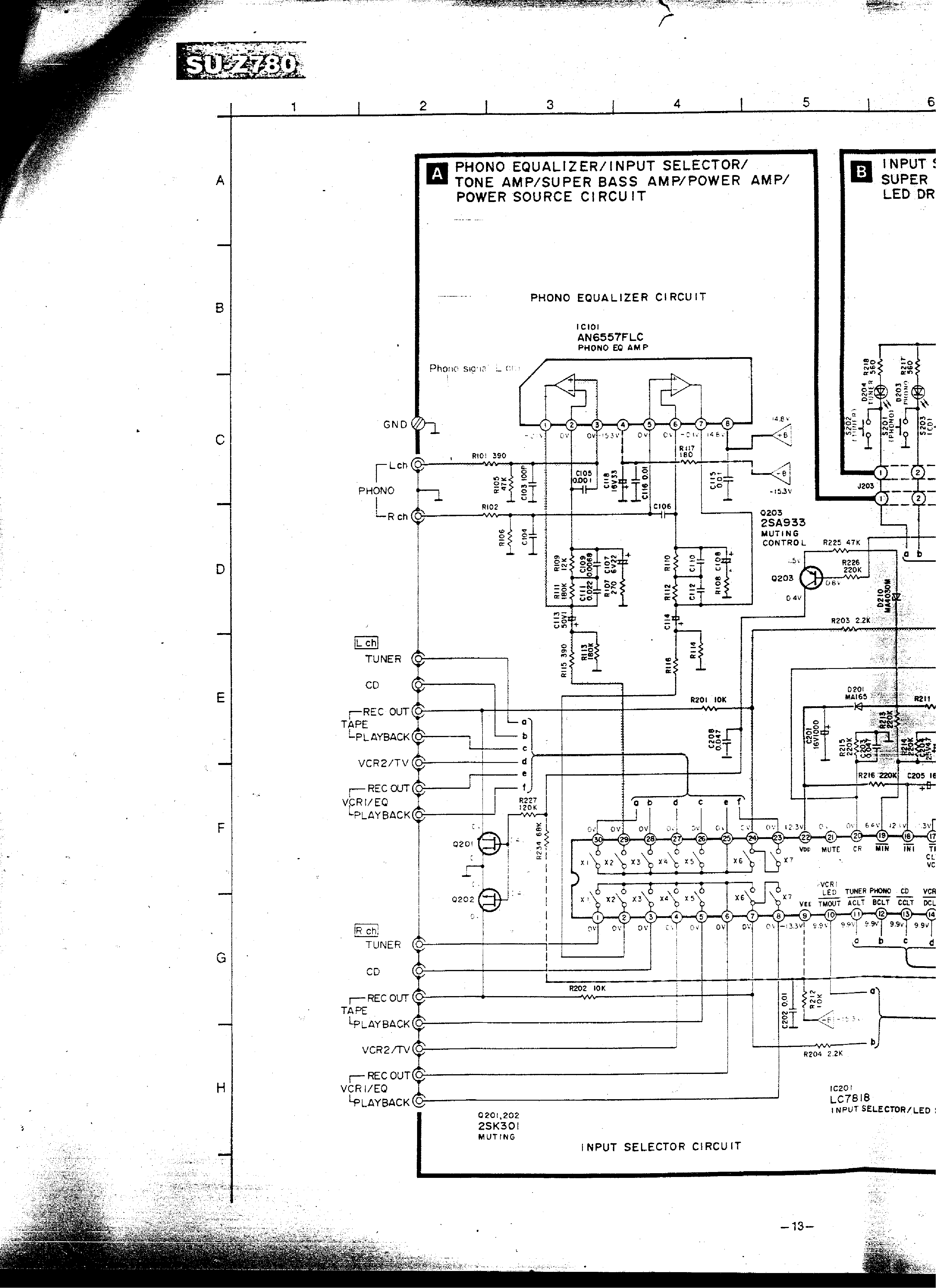TECHNICS SU-Z780 service manual (2nd page)
