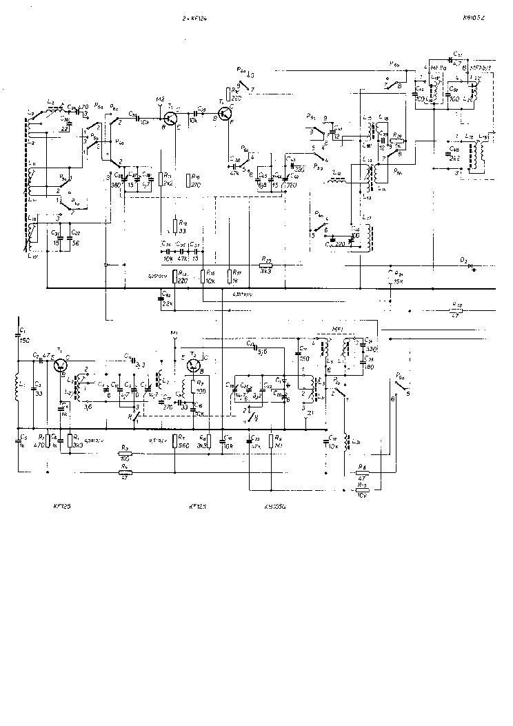 Tesla T444 Tube Radio Service Manual Download Schematics Eeprom