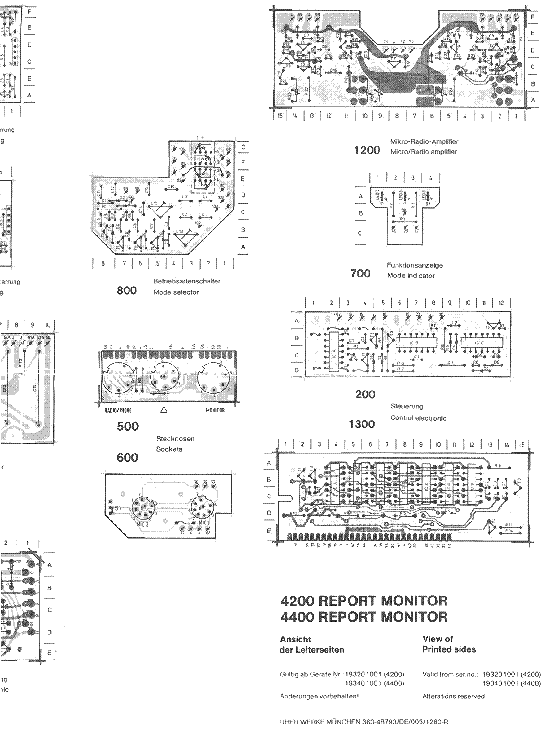 uher 4200 4400 report monitor sch service manual download  schematics  eeprom  repair info for