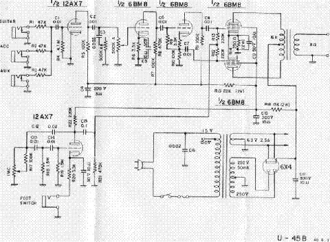 univox u45b service manual download schematics eeprom repair info rh elektrotanya com