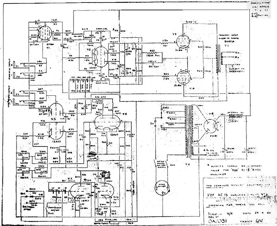 vox ac15 amplifier