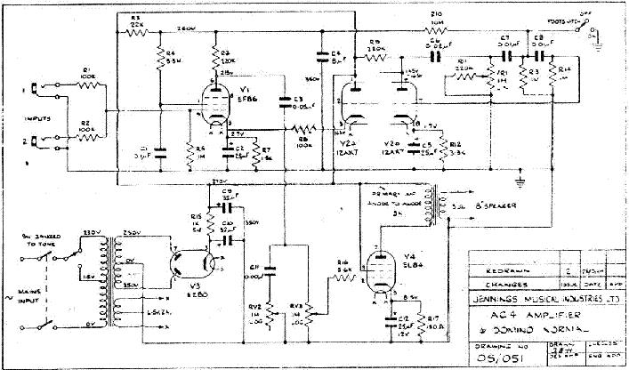 Vox Ac4tv Schematics - Meta Wiring Diagrams