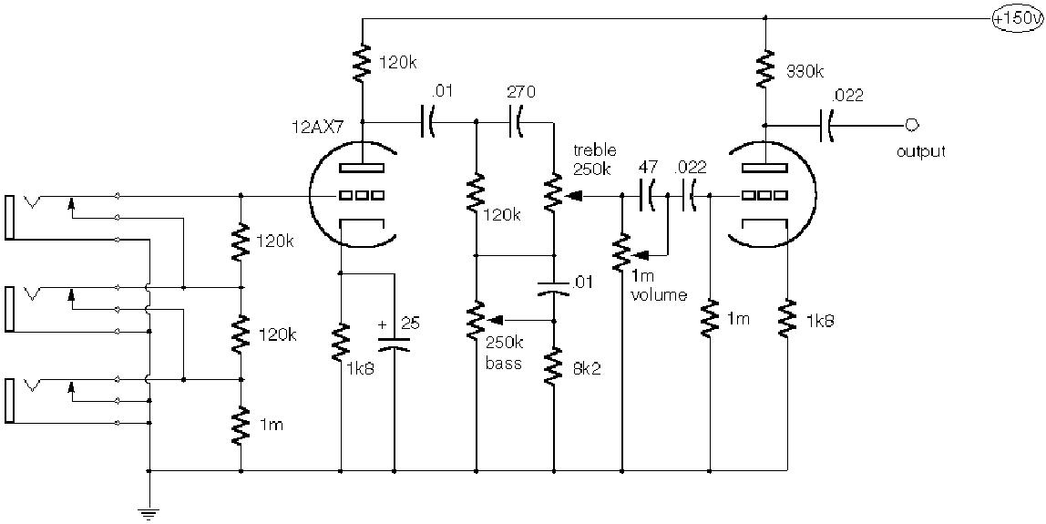 vox ac30 1986 sch service manual free download  schematics