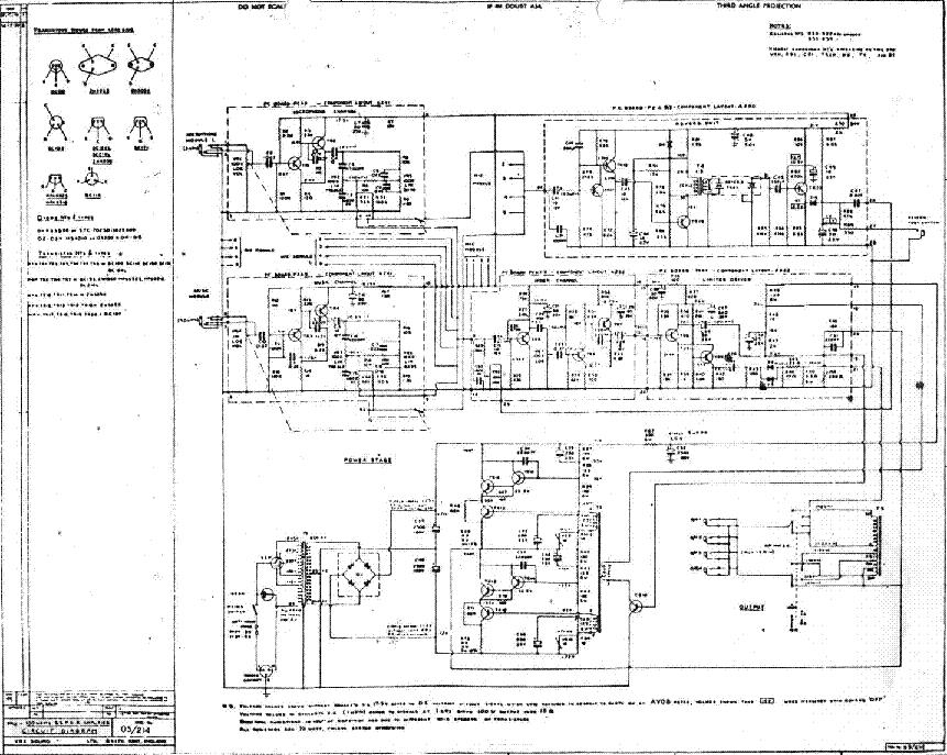 Univox Amp Schematic