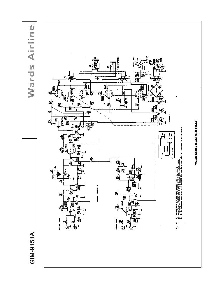 wards-airline_gim-9151a_sch.pdf_1 Airline Schematics on