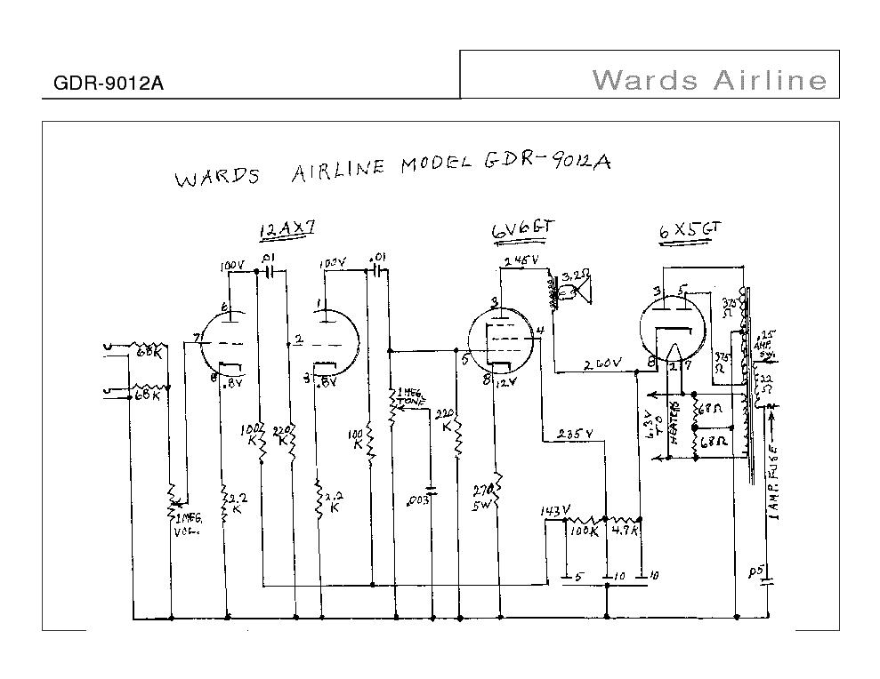 wards_airline_gdr-9012a_sch.pdf_1 Airline Schematics on