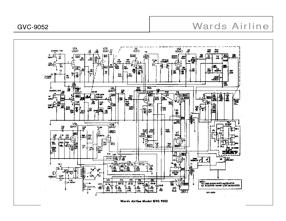 wards_airline_gvc-9052_sch.pdf_1 Airline Schematics on