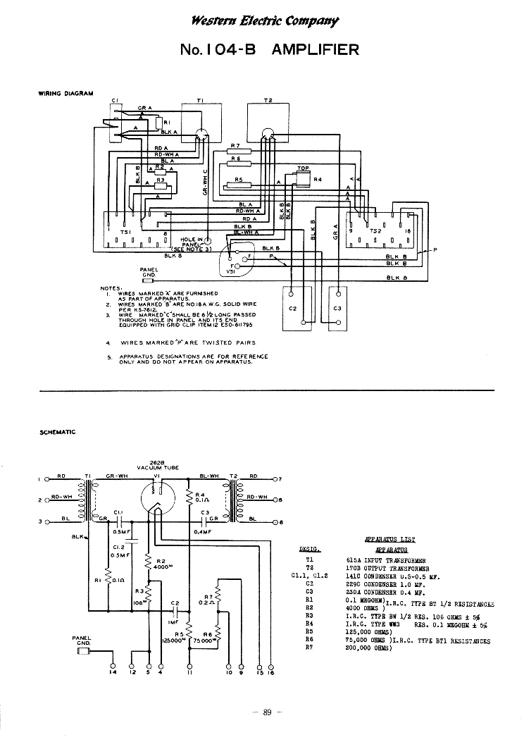 western electric 104