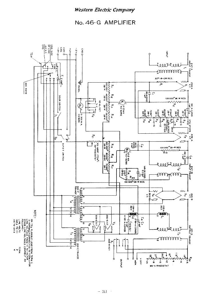 western electric 46