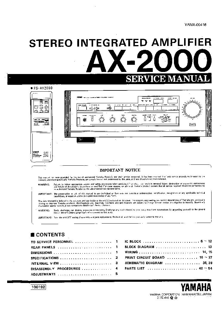 yamaha ax 2000 service manual download schematics eeprom repair rh elektrotanya com repair manual asus q301l repair manual accent 2014