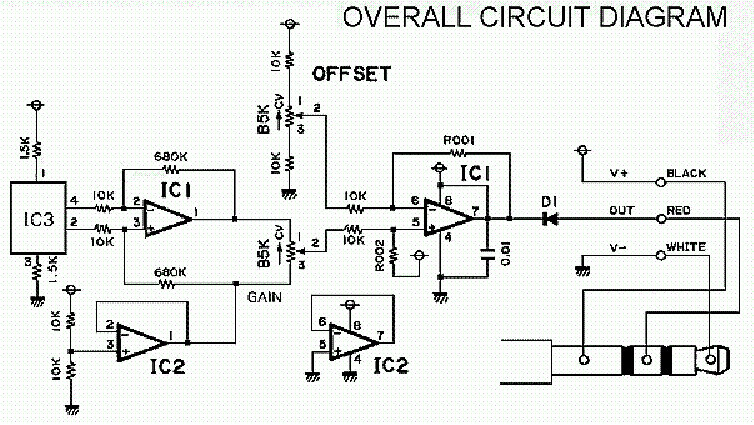 YAMAHA BC-2 AMPLIFIER SCH service manual (1st page)