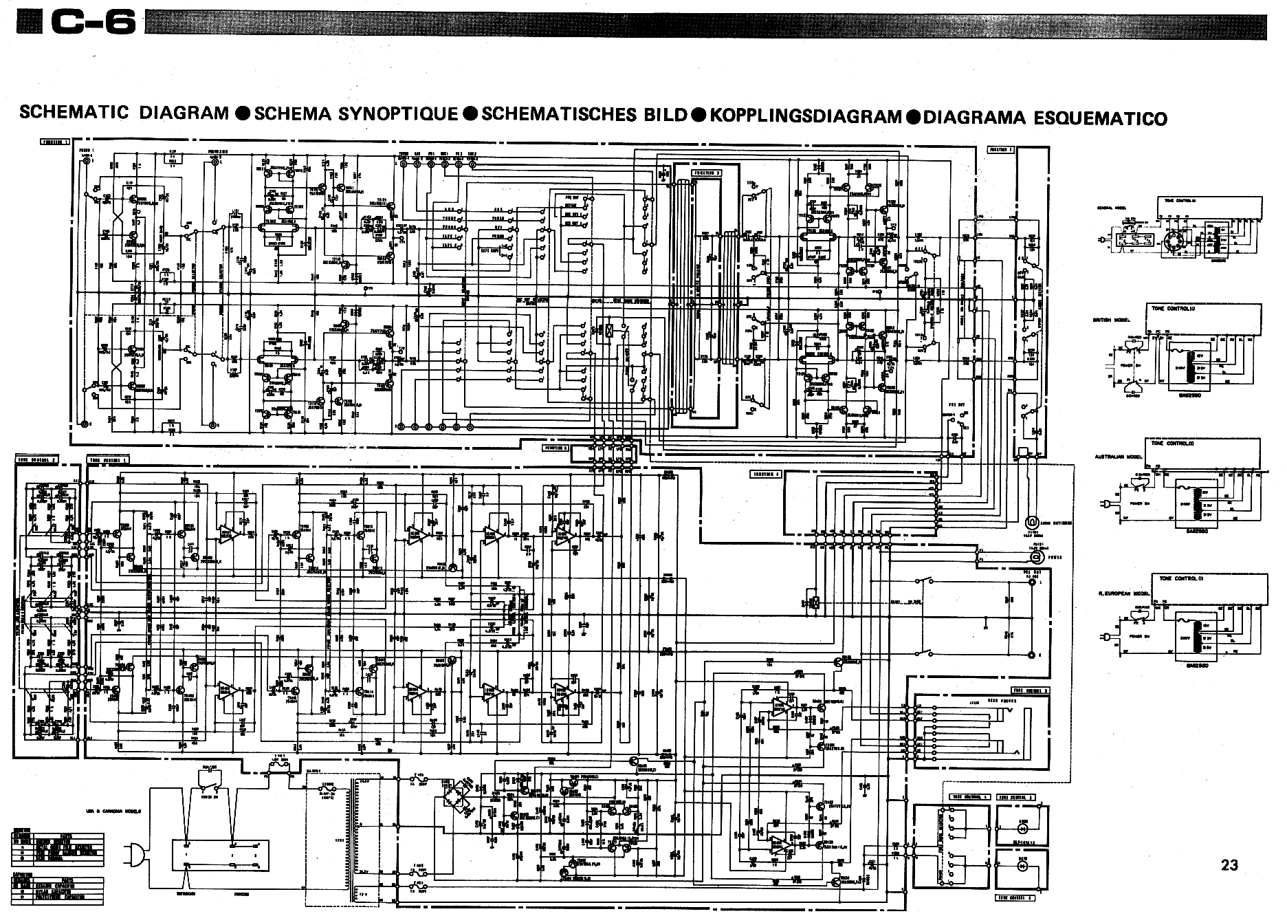 Yamaha Pre Amplifier Circuit Manual Guide Wiring Diagram Amplifiercircuitpowersupply Power Stereo Audio C 6 Preamplifier Service Download Schematics Eeprom Rh Elektrotanya Com Transistor Bass