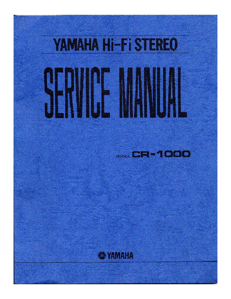 yamaha ag 100 service manual pdf