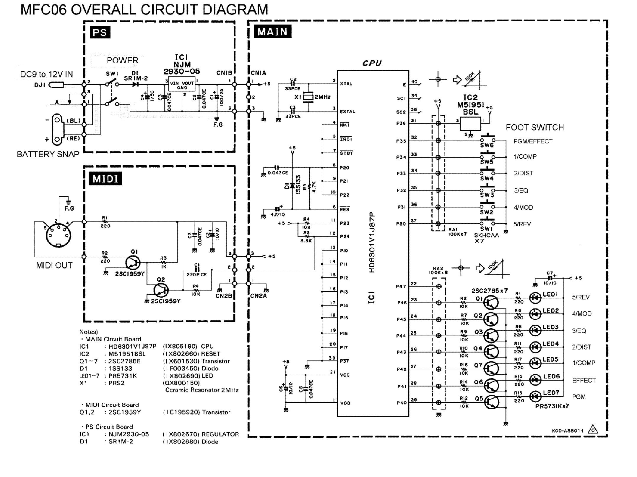 Yamaha Mfc10 Manual Electronics Tutorial A Beginner39s Guide To Basic Circuits Array Rx V2095 V2095rds Service Download Schematics Eeprom Rh Elektrotanya Com