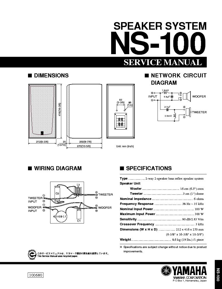 YAMAHA EMX68S EMX88S SM Service Manual free download, schematics ...