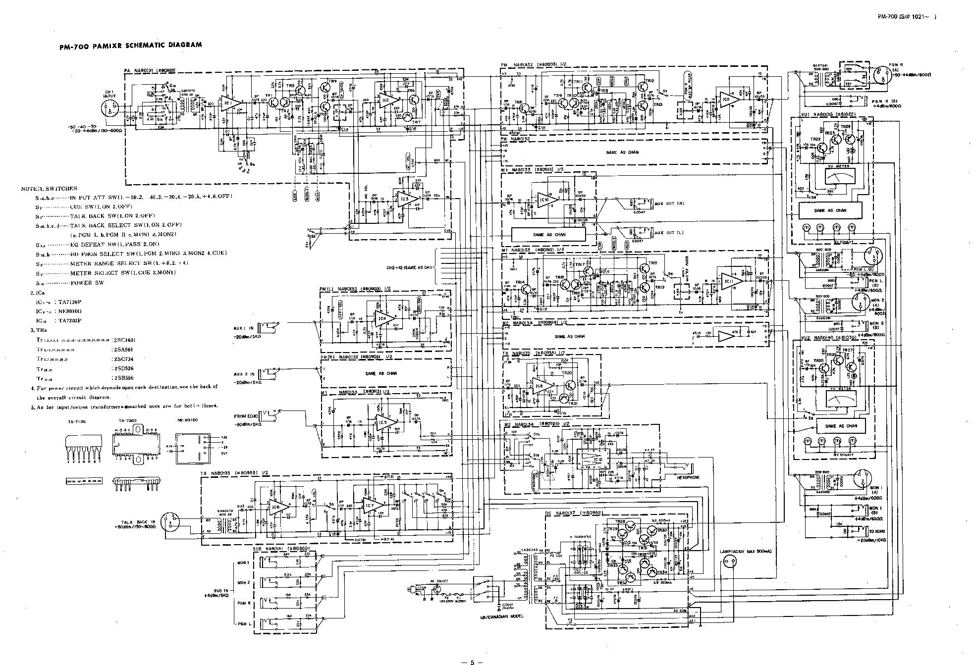 Marvelous Yamaha Pm 700 Audio Mixer Sch Service Manual Download Schematics Wiring Digital Resources Hutpapmognl