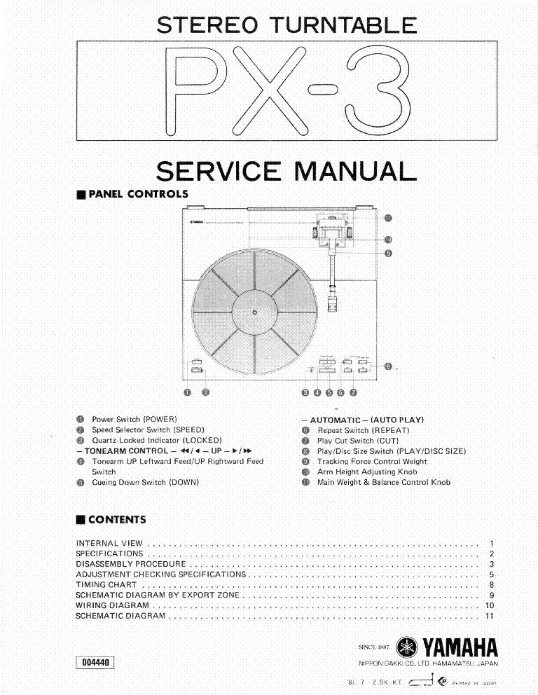yamaha rx 485 485rds service manual download schematics. Black Bedroom Furniture Sets. Home Design Ideas