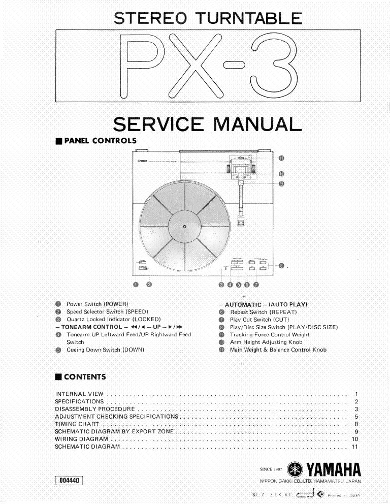 yamaha rx 485 485rds service manual download schematics. Black Bedroom Furniture Sets. Home Design Ideas