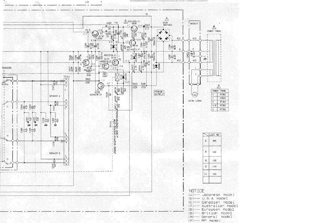 YAMAHA RX-350 SCH Service Manual download, schematics, eeprom ...