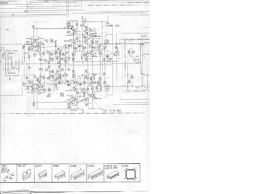 Yamaha Rx 350 Sch Service Manual Download Schematics Eeprom Repair Info For Electronics Experts