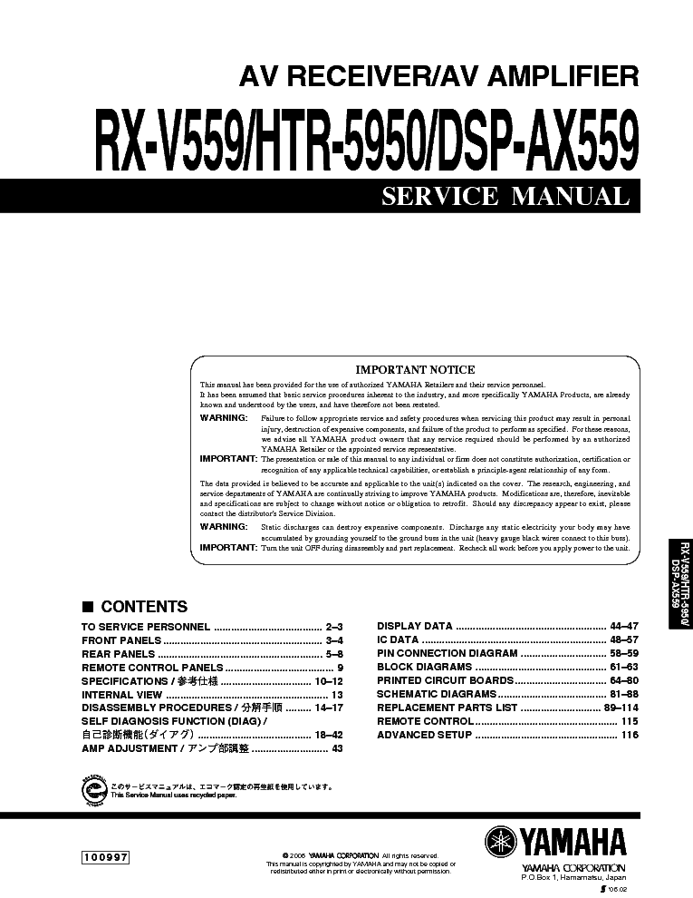 Yamaha Ls9 Manual Pdf