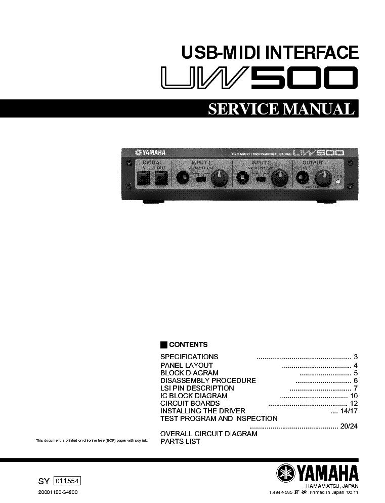 Yamaha emx 2000 инструкция