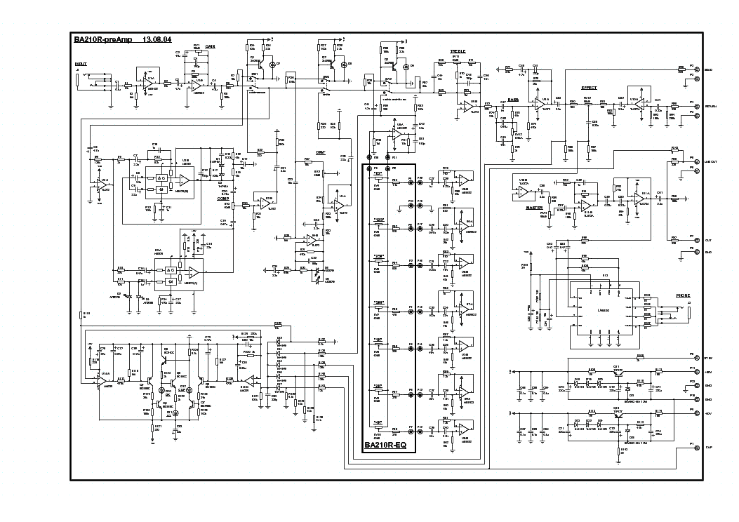 Yerasov Gta40m2 Sch Service Manual Download  Schematics