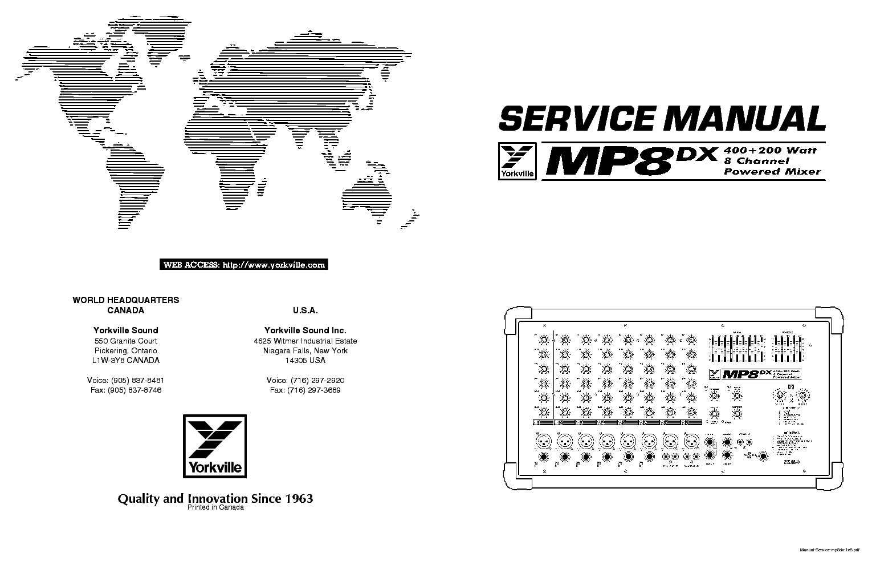 yorkville mp8dx service manual download schematics eeprom repair rh elektrotanya com