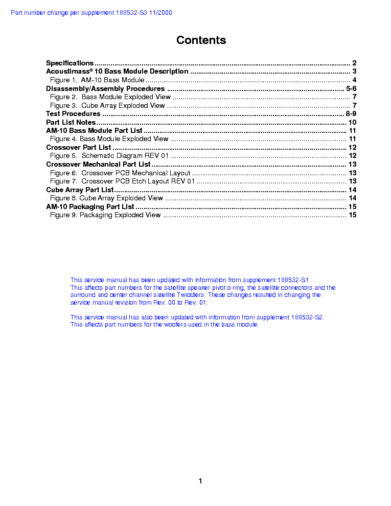 bose acoustimass am 10 parts info service manual download rh elektrotanya com