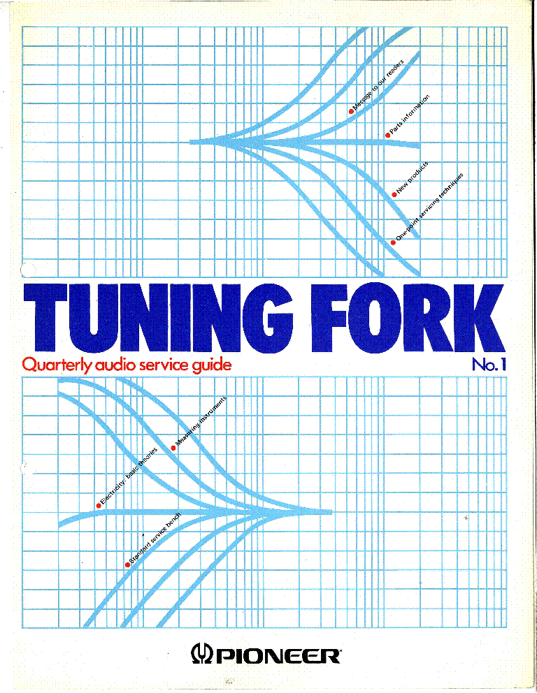 PIONEER TUNING FORK 1 service manual (1st page)